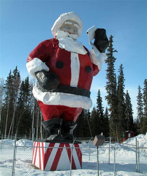 big santa claus santa spotting with ktva 11 daybreak and akonthego ak on the go