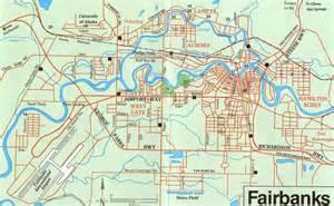 Fairbanks Alaska Map by Maps Of Fairbanks