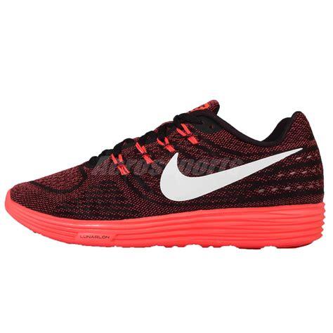 nike lunarlon mens running shoes nike lunartempo 2 ii black mens running shoes sneakers