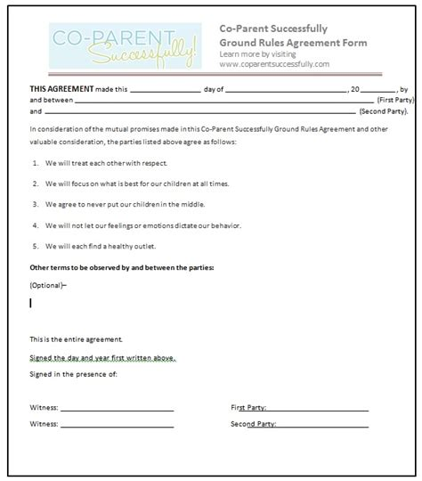 co parenting calendar template co parenting plan template image collections template