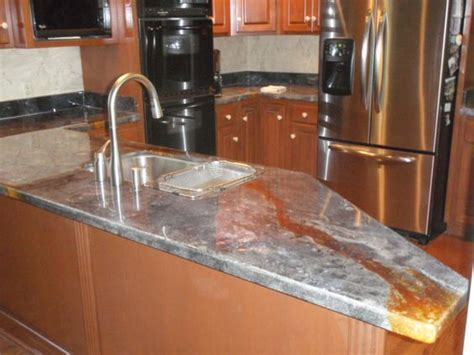 Acid Stain Concrete Countertop   Stained Concrete