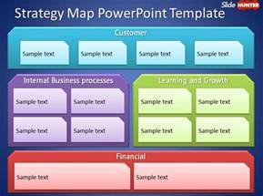 strategy mapping template free strategy map powerpoint template