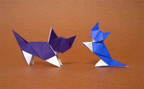 simple origami cat origami cats page 8 of 10 gilad s origami page