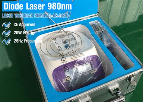 diode laser vein removal vein vascular removal equipment 980nm diode laser vascular removal spider veins removal blood