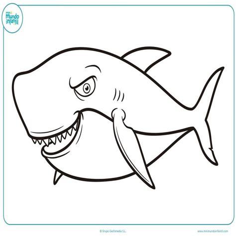 imagenes de animales animados para colorear dibujos para colorear tiburones cheap animales del mar