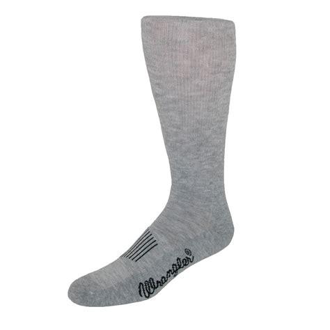 mens moisture wicking western boot socks by wrangler