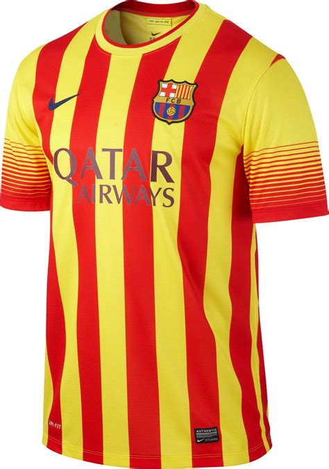 barcelona kit flagwigs barcelona will wear the red yellow striped