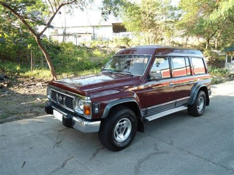 nissan safari for sale lhd nissan safari for sale page 2 patrol 4x4