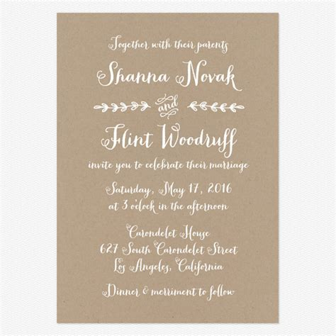 Wedding Announcement Vs Invitation by Wedding Invitation Wording That Won T Make You Barf