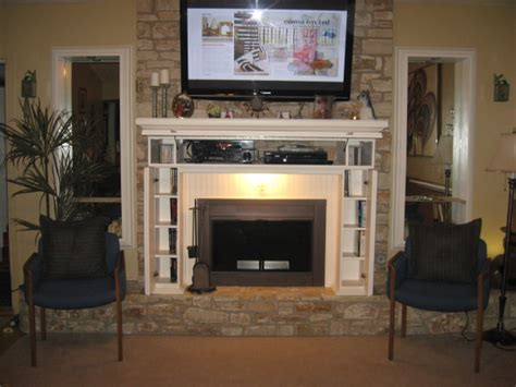 tv over fireplace and media storage great room information about rate my space questions for hgtv com