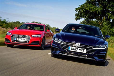 Audi Vs Vw volkswagen arteon vs audi a5 sportback auto express
