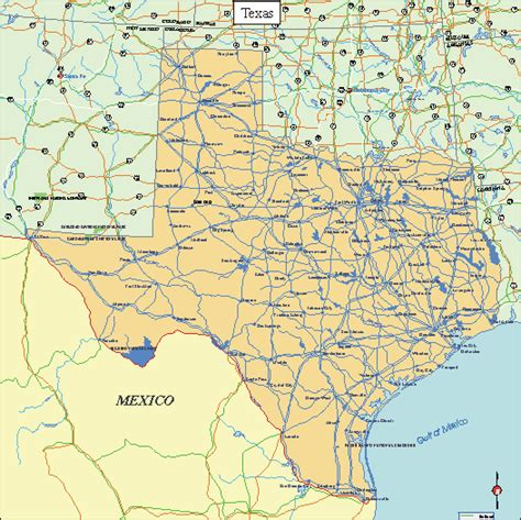 view texas map texas facts and symbols us state facts