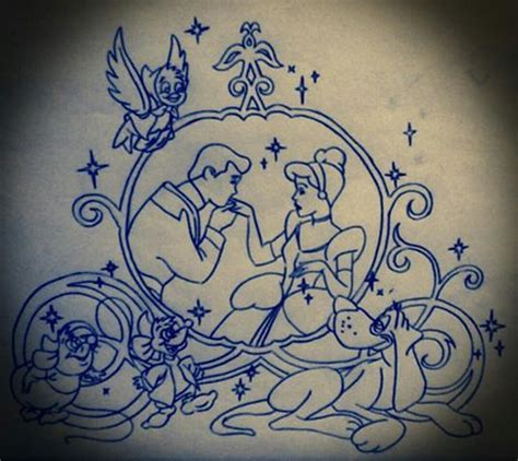 cinderella tattoo designs best 25 cinderella tattoos ideas on