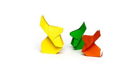 Origami Rabbit Easy - easy origami rabbit comot