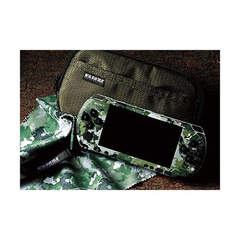 Po Import Console Psp Metal Gear Solid Peace Walker Premium buy psp 3000 metal gear solid peace walker premium package used psp japanese import nin