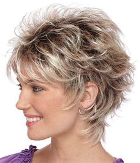 feathered layered haircuts 50 short feathered haircuts for older women short