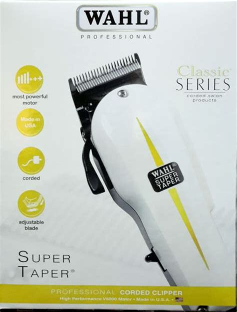 Hair Clipper Wahl Professional Taper Classic Electric 1 wahl taper hair clipper price review and buy in dubai abu dhabi and rest of united arab