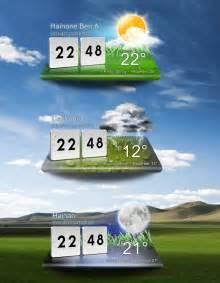 Computer Desktop Widgets Lg Optimus Desktop Weather Widget Reloaded