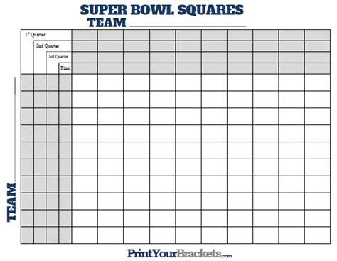 Bowl Squares Template 25