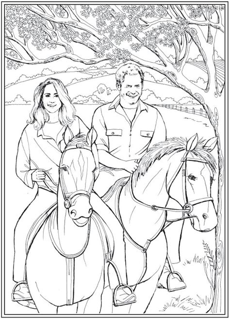 love story coloring pages harry and meghan a love story coloring book dover