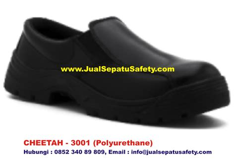 Sepatu Safety Cheetah 3001 H safety shoes cheetah 3001 pendek elastic slip on harga