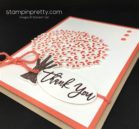 card ideas beautiful branches thank you card idea stin pretty