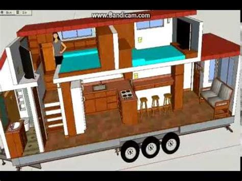 A Not So Tiny Tiny House Tiny House Design Using 2 Bedroom Tiny House Plans On Wheels