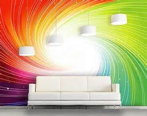 rainbow wallpaper for room decorating theme bedrooms maries manor rainbow wallpaper