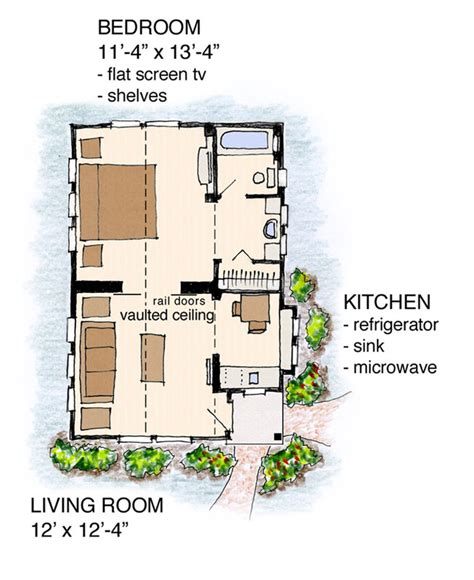 tiny cottage house plans tiny concept cottage house plan