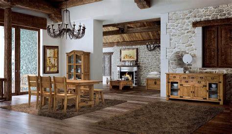 comedor rustico  muebles saskia en pamplona