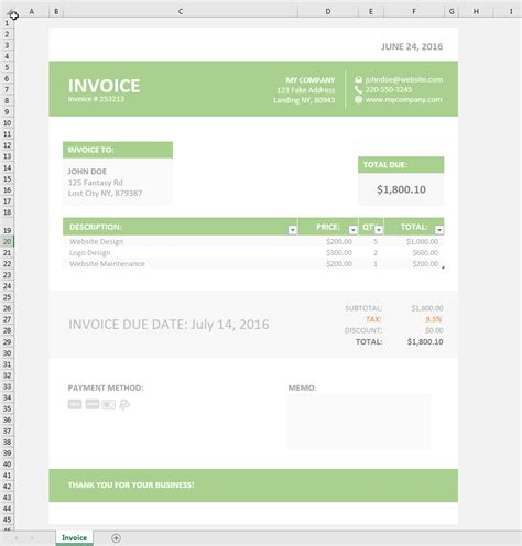 excel invoice invoice template xls simple invoice template excel