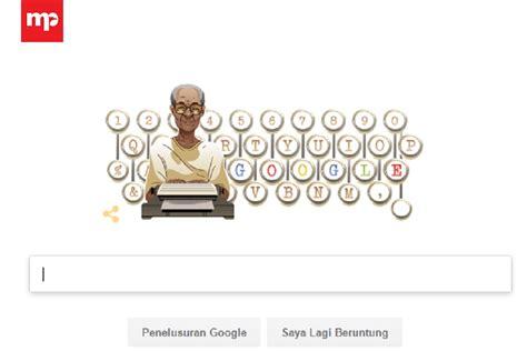 Ulang Tahun Pramoedya Ananta Toer Jadi Tema Doodle