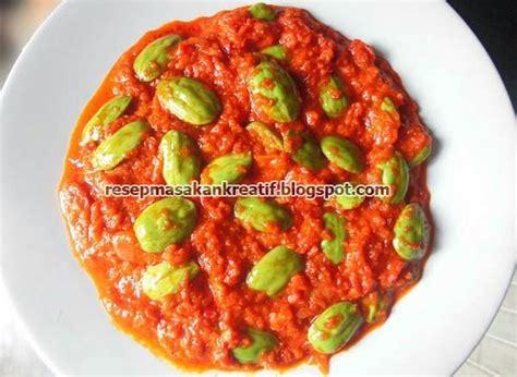 Aneka Masakan Jengkol resep sambal pete resep masakan nusantara