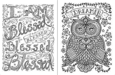 coloring pages for adults with sayings posh adult coloring book inspirational quotes for fun