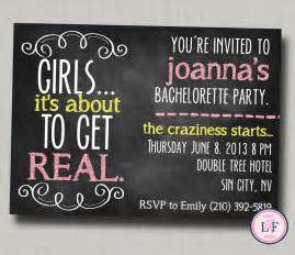 bachelorette invitation printable chalkboard by laceyfields
