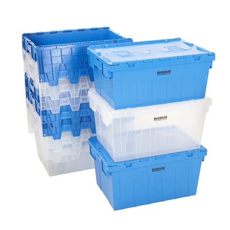 stackable bin storage cabinets storage containers tote boxes attached lid storage box