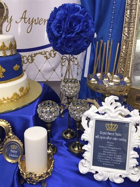 Oscars Liveblog Purple And Blue Baby by Royal Baby Shower Baby Shower Ideas Photo 1 Of 22