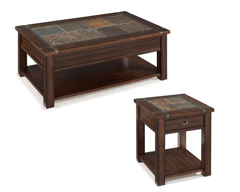 coffee table set roanoke by magnussen mg t2615set