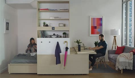 robotic wall system ori 28 images yves b 233 har and mit and yves b 233 har collaborate on robotic furniture that
