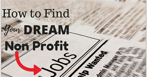 Mba Non Profit Internships by How To Find Your Non Profit Best Guide Wisestep
