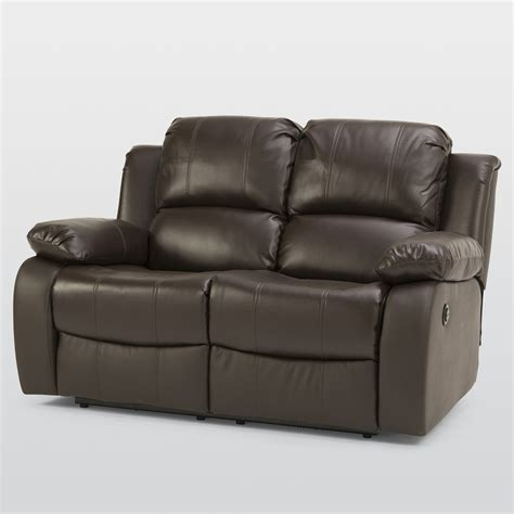 electric sofa recliner asturias leather 2 seater electric recliner sofa next