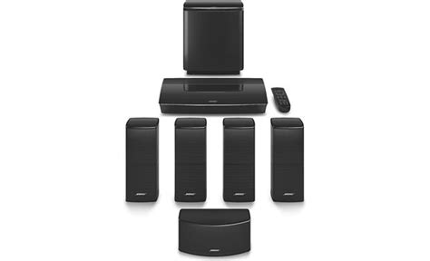 bose 174 lifestyle 174 600 home theater system black at