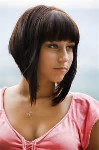 haircut for 8year w bangs asymmetrical bob w bang hairstyles pinterest bob