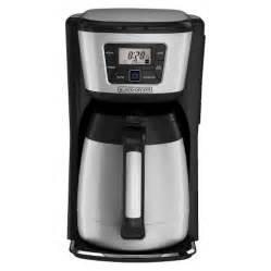 black and decker coffee maker black decker 12 cup thermal drip coffee maker target