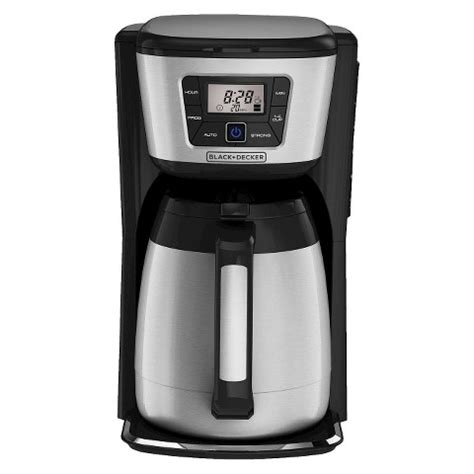 Coffee Maker Black And Decker black decker 12 cup thermal drip coffee maker target