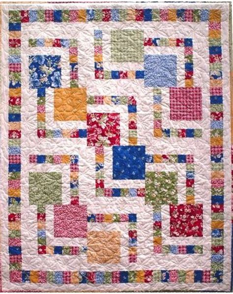 Easy Zig Zag Quilt Pattern by Zig Zag Zoom Quilt Pattern Quilting Fever Juxtapost