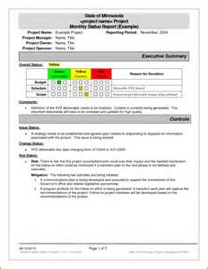 Simple Status Report Template 7 Monthly Status Report Template Expense Report