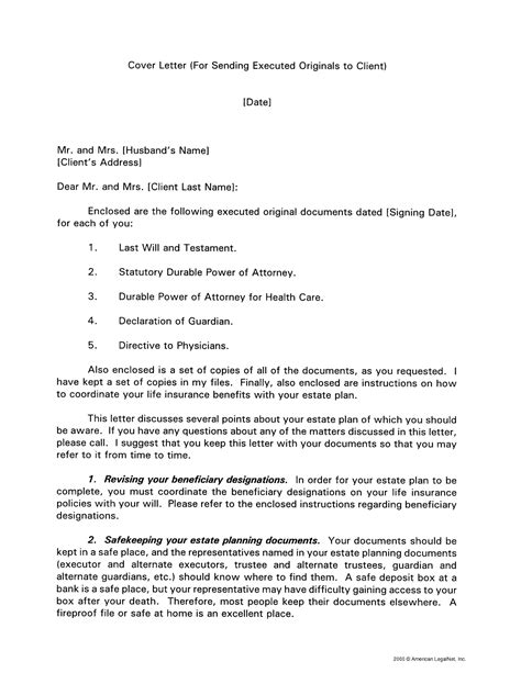 cover letter for sending documents sle guamreview com