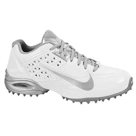 nike air speedlax 4 turf s lacrosse cleats 6 white