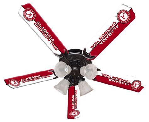 alabama ceiling fan blades alabama crimson tide 52 inch ceiling fan